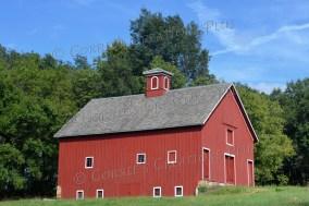 Red barn; taken on Highway 136 in southeastern Nebraska