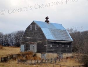 Old, but still functioning, barn in southeastern Nebraska
