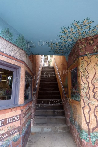 Stairway; taken in Bisbee, Arizona