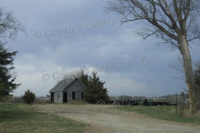 An abandoned farm building in southeastern Nebraska