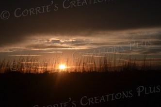 Nebraska's prairies produce some amazing sunsets.
