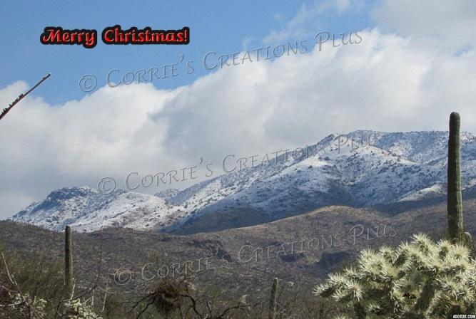 Rincon Mountains in southeastern Arizona