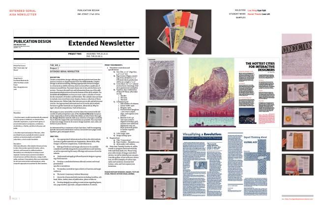 Publication Design: Extended Newsletter