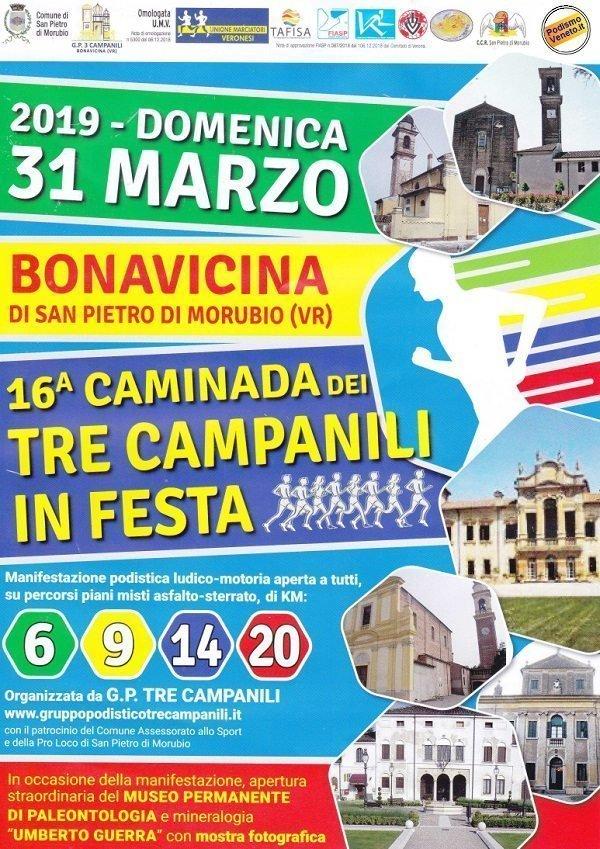 Caminada dei Tre Campanili in Festa 2019
