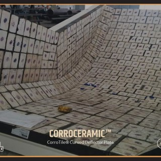 CorroTile Curved Deflector Plate