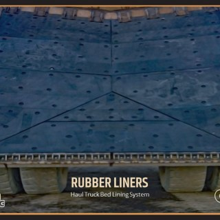 Haul Truck Bed Lining System
