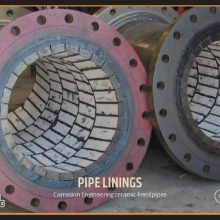Corrosion Engineering ceramic-lined pipes