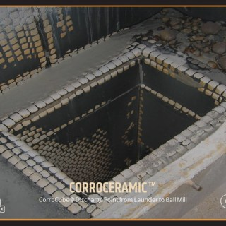 CorroCube Discharge Point from Launder to Ball Mill