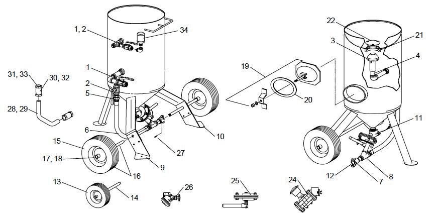 Gasket, CQG coupling, 10 pk