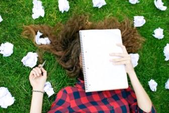 Branco de escritores ao redigirem textos e artigos