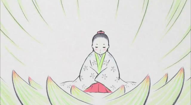 The little princess in the bamboo blossom