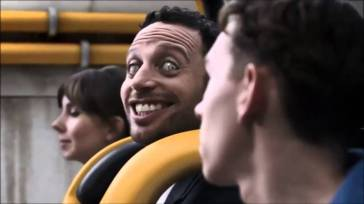 The face of Alton Towers' The Smiler