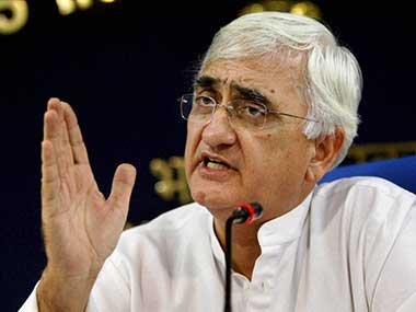 India: Tainted Salman Khurshid has been promoted as External Affairs Minister.