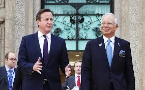 Malaysia: David Cameron Raises Corruption claims against PM Najib Razak