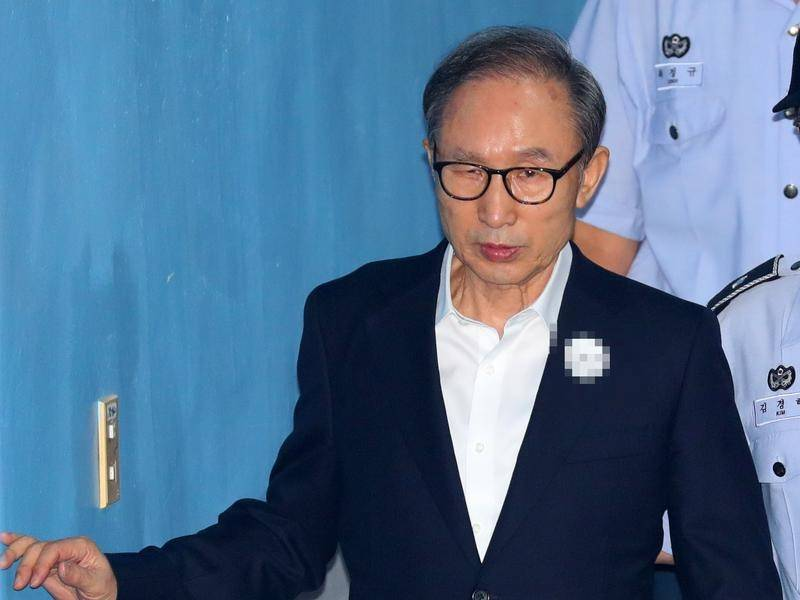 South Korea: Former president Lee granted bail in bribery case