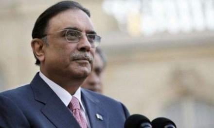 Pakistan:  Former President Zardari questioned in money laundering case