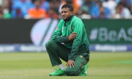 Bangladesh: Captain Shakib al Hasan banned for corruption.
