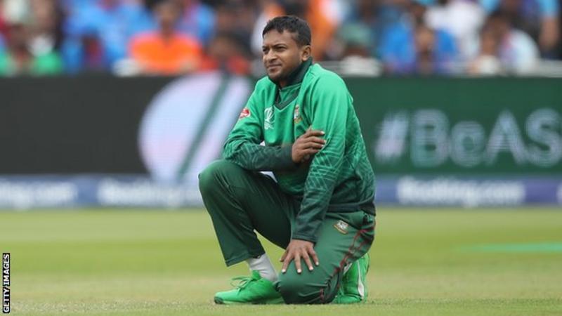 Bangladesh: Captain Shakib al Hasan banned for corruption.