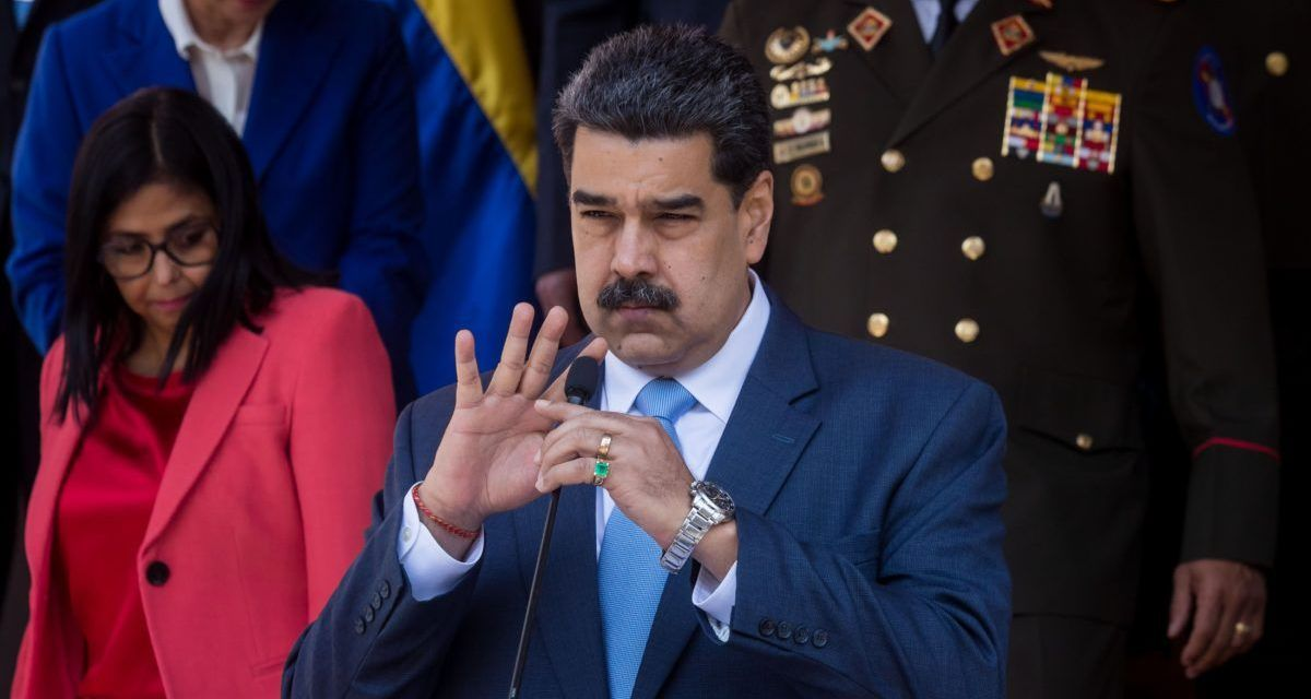 U.S.A: Justice Department Charges Former Venezuelan President Nicolas Maduro With Drug Trafficking, Corruption