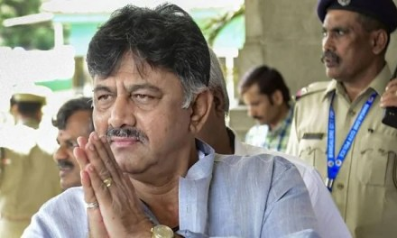India: CBI Raids Karnataka Congress leader DK Shivakumar's Premises.