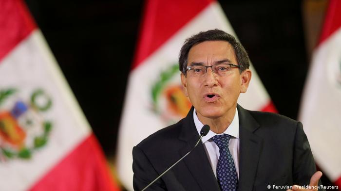 Peru: President Martin Vizcarra ousted by Congress on corruption charges.
