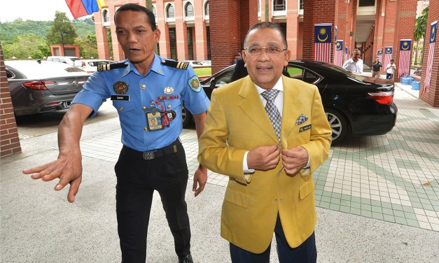 Malaysia: Former Umno V-P Mohd Isa Abdul Samad jailed, fined over corruption charges.