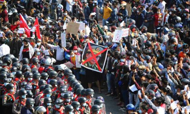 Myanmar: Protest rallies heap pressure on coup leaders.