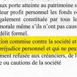 abus des biens sociaux – irrevabilité de l'action civile des actionnaires et des créanciers livre de Madeleine Lobe Lobas