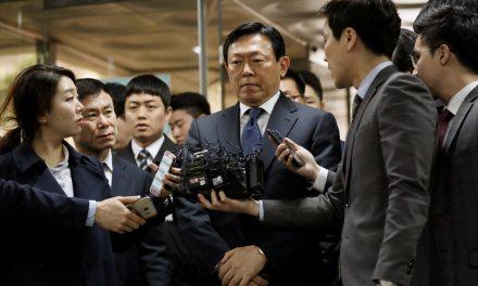 South Korea:  High level corruption arrests