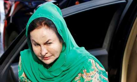 Malaysia: Former prime minister's wife was released on bail.