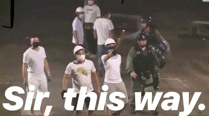 為甚麼平時就鬧警察黑警,有事又要找警察保護? 3