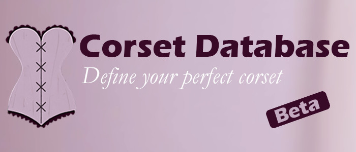 Welcome to Corset Database | Corset Finder - Define your perfect corset