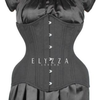ELC-201 pattern Elyzza London Corset Curvy Longline CorsetDeal Vintage Goth
