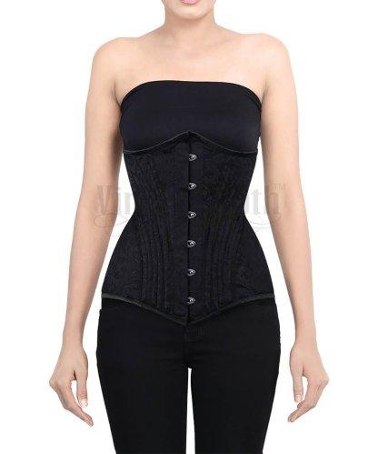 Long waist cincher 1901 pattern underbust corset CorsetDeal Vintage Goth Zdenek