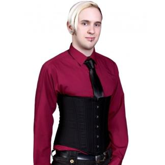 Timeless Trends Lucy Corsetry mens underbust black cashmere