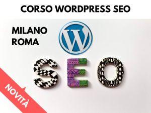 corso seo wordpress cover ok milano roma