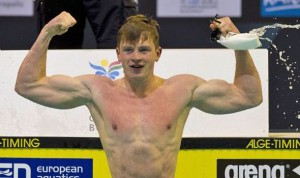 Adam Peaty, recordman mondiale nei 50 e 100 rana