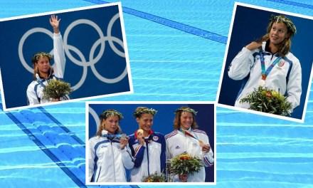 ItalNuoto e Olimpiadi | Atene 2004, Federica Pellegrini un argento dolceamaro