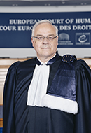 Portrait of Raffaele Sabato, judge elected  in respect of Italy