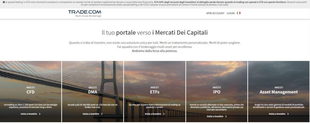 piattaforma trading trade.com