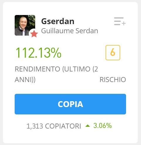 top trader etoro trading in azioni
