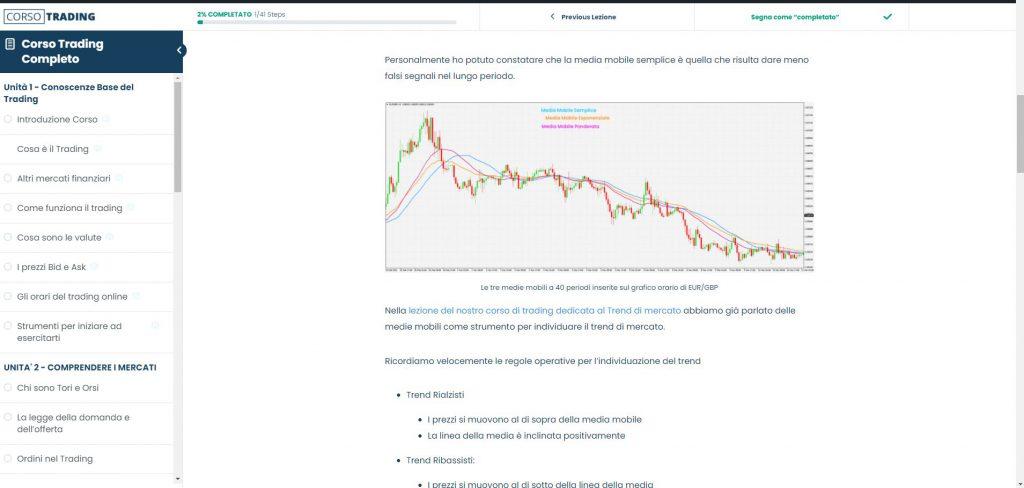 corso trading online gratis