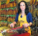 Una rondeña se proclama la mejor cortadora de jamón de España