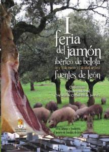 I Feria de Jamón Ibérico de Bellota y Concurso Nacional de Cortadores de Jamón de Fuentes de León (Badajoz)