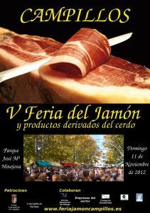 Campillos celebra este domingo la V edición de la Feria del Jamón, fiesta de Singularidad Turística, con más de sesenta empresas participantes