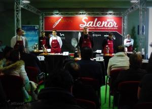 Ganadores del VII Concurso de cortadores de jamón de Asturias Corjamon Salenor 2013
