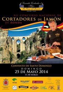 XII Concurso de Cortadores de Jamón Ronda 2014