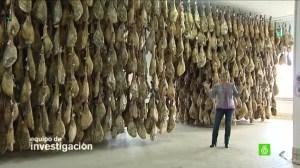 Polémico reportaje sobre el jamón ibérico en La Sexta