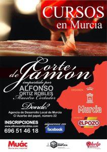 Curso de corte de jamón en Murcia