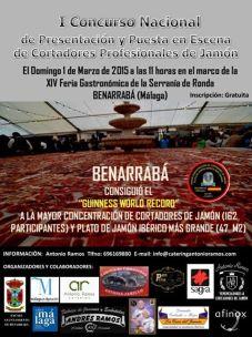 I Concurso nacional de presentación y puesta en escena de cortadores de jamón